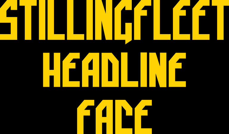 Stillingfleet Headline Face